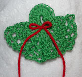 Angel Package Topper Free Crochet Pattern