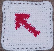 Arrow Afghan Square