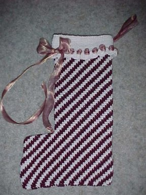Aubrey's Christmas Stocking Crochet Pattern