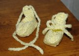 Baby Ballet Booties Crochet Pattern