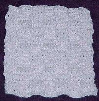 BASKETWEAVE DISHCLOTH Crochet Pattern - Free Crochet ...