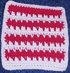 Candy Stripes Afghan