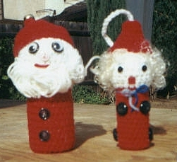 Mrs Santa Claus Doll PDF Crochet Pattern by BluebearyTreasures
