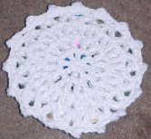 CD Coaster Crochet Pattern