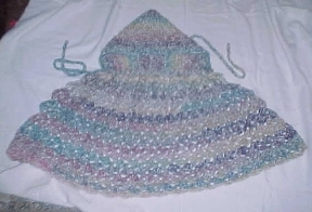Ravelry: Hooded Cape pattern by Leisure Arts