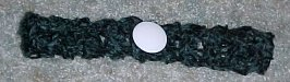 Christmas Button Choker Crochet Pattern