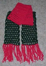 Aesthetic Nest: Crochet: Skinny Scarf