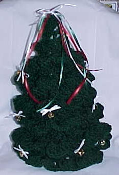Crochet Christmas Holiday Tree - YouTube