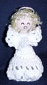 Clothespin Angel Crochet Pattern