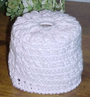 Free Crochet Patterns For Toilet Tissue Holders : CROCHET HANGING TOILET TISSUE COVER ? Only New Crochet ...