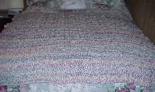 Dad's Chain Link Afghan Photo