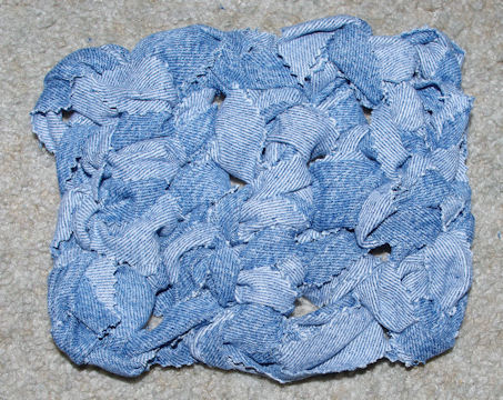 Denim Hotpad Free Crochet Pattern