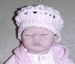 Doll Beret Crochet Pattern