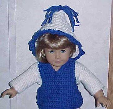 Doll Hoodie 18 Doll Crochet Pattern Free Crochet Pattern