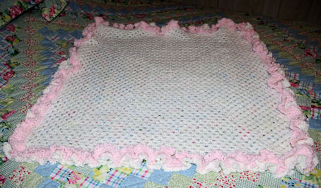FREE CROCHET AFGHAN BORDER PATTERN - Crochet — Learn How