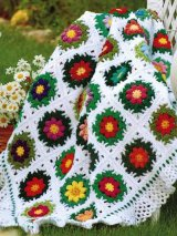 Wildflower Garden Afghan Pattern