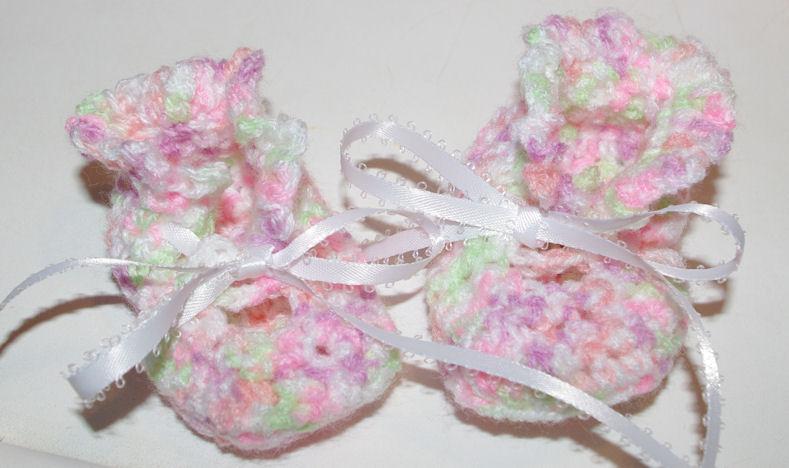 Emmas Baby Booties Crochet Pattern Free Crochet Pattern Courtesy