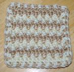 Extended Single Crochet Coaster Free Crochet Pattern