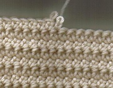 Crochet Stitches Esc : EXTENDED SINGLE CROCHET (ESC)