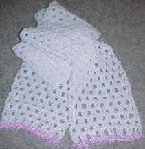 CROCHET SCARF EYELASH YARN | Beginner Crochet Instructions