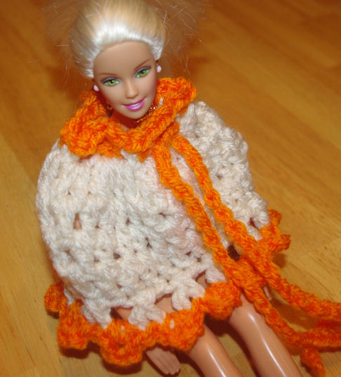 Fashion Doll Poncho Crochet Pattern Free Crochet Pattern Courtesy