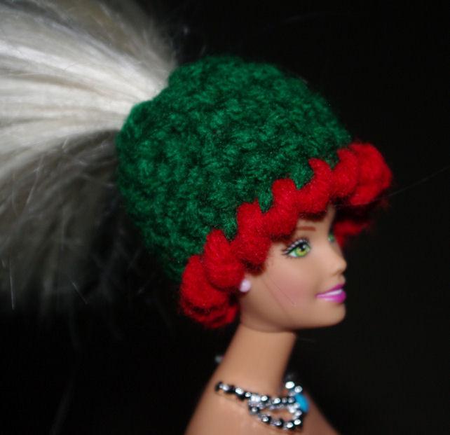 Fashion Doll Ponytail Hat Crochet Pattern Free Crochet Pattern