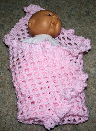 Crochet Pattern Central Baby Afghan : CROCHETED BEGINNER BABY AFGHANS ? CROCHET PATTERNS