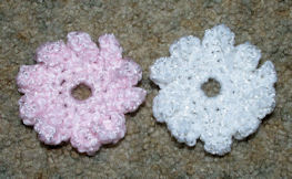 Flower Applique 2 Free Crochet Pattern