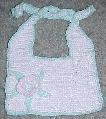 Flower Baby Bib Crochet Pattern Free Crochet Pattern Courtesy Of