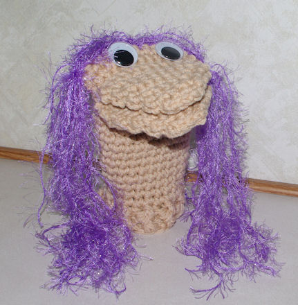 Hand Puppet Crochet Pattern - Free Crochet Pattern Courtesy of ...