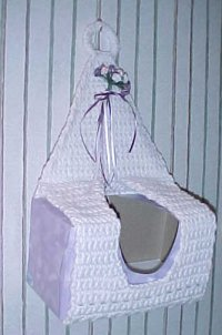 Post image for Crocheted Bathroom Accessories