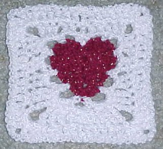 Crochet Afghan Patterns With Hearts : free crochet heart afghan patterns