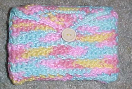 Index Card Holder Crochet Pattern