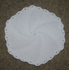 Football Placemat | Free Crochet Pattern
