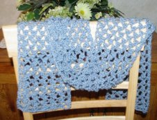 Lacy Crochet Scarves From Edgings » unikatissima's