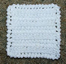 Linked Doubles Coaster Crochet Pattern