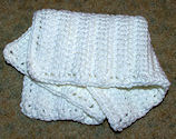 Linked Doubles Dishcloth Crochet Pattern