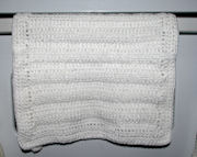 Linked Trebles Dish Towel Crochet Pattern