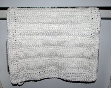 Dish towel crochet pattern. - Craftown.com
