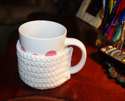 Crochet Coffee Cozy - Free Crochet Pattern | JJCrochet's Blog