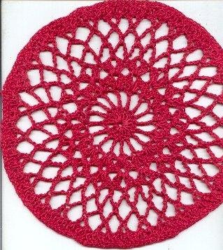 My First Doily by Victoria Gable