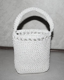 Nylon Mini Tote Free Crochet Pattern
