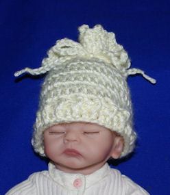 Open Top Preemie Hat Free Crochet Pattern