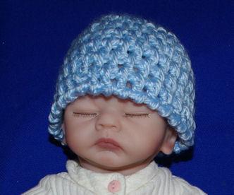 Free Crochet Pattern Monkey Hat, Baby Beanie part 1 - YouTube
