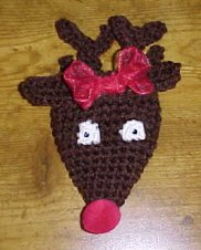 Reindeer Ornament Crochet Pattern