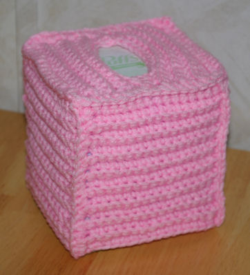 Flower Toilet Tissue Cover