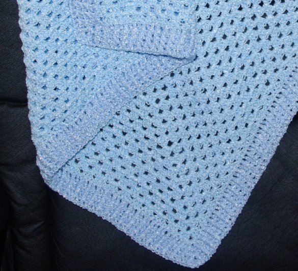 Free Crochet Pattern Afghan Edging : Gallery For > Afghan Blanket Crochet Pattern