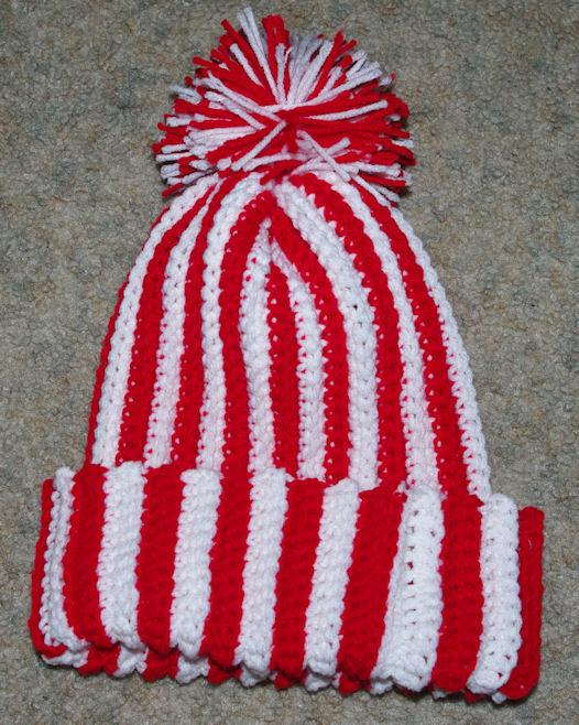 2d371c62c3377 Ribbed Winter Hat Free Crochet Pattern - Free Crochet Pattern ...