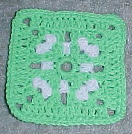 wedding ring afghan knit pattern