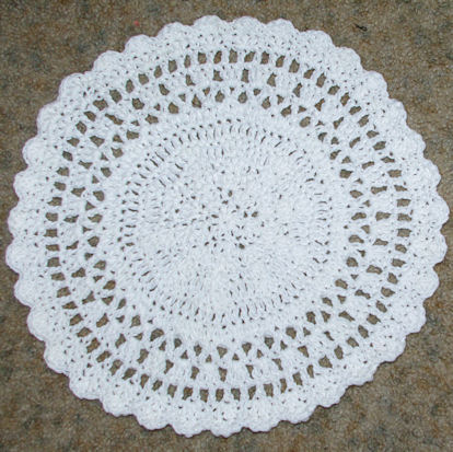 Free Kitchen Crochet Patterns Dish Cloths Hot Pads Placemats And More